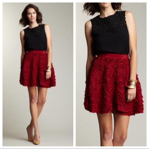 Adam Lippes Dresses & Skirts - Adam Lippes Frayed Silk Circle Skirt